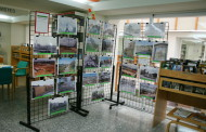 Una exposició de José Luis Mediavilla fa un recull sobre la història de la Llagosta
