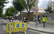 L'Ajuntament reforça la seguretat a l'entrada i la sortida de l'escola Joan Maragall