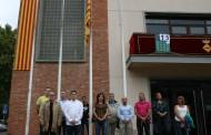 La Llagosta commemora la Diada de Catalunya amb la hissada de la senyera