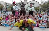 La colla Gegantera recapta fons per a la Marató de TV3