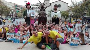 Zumba Gegant 2015 Foto: Facebook de la Colla Gegantera de la Llagosta