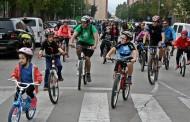 La Bicicletada popular ha posat el punt final  a la Setmana de la Mobilitat
