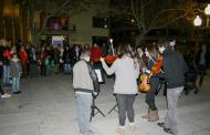 La Llagosta diu prou a la violència masclista amb força participació als actes del 25N