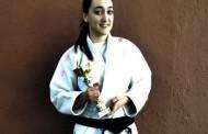 La judoka llagostenca Nadia Vidal, subcampiona de Catalunya júnior