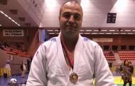 Andrei Ivancea, del Club Judo-Karate la Llagosta, subcampió del Trofeu Internacional veterà