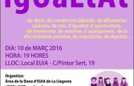 EUiA se suma aquesta tarda als actes de commemoració del Dia Internacional de les Dones