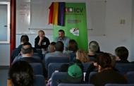 L'acte d'ICV per commemorar la 2a República va servir per parlar de la importància del teatre