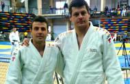 Sergi Pons i Juan Carlos Cerrudo, sisens en el Campionat d'Espanya de katas