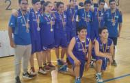 El conjunt de bàsquet de les EIE, quart a la Final Nacional