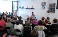La trobada mensual amb l'alcalde es va fer ahir dimecres al Casal d'Avis