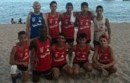 El cadet masculí d'handbol platja del Joventut Handbol guanya a Caldes d'Estrac