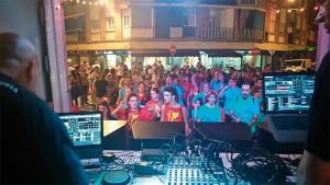 Disco-Sangriada de la Festa Major 2015, organitzada pels Sangrinaris.
