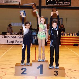 El Club Patí la Llagosta guanya tres medalles en el Festival de Sant Fost