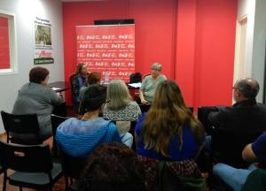 EUiA va commemorar el 25N amb una xerrada sobre coeducació