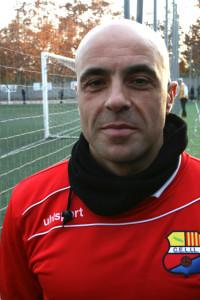 Humberto Velasco, entrenador CE la Llagosta.