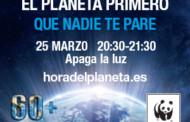 L'Ajuntament de la Llagosta s'adhereix a l'Hora del planeta