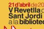Aquesta tarda, Revetlla de Sant Jordi a la Biblioteca
