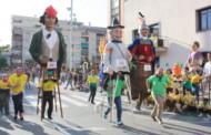 Se celebra amb èxit la tercera Cursa de Gegants de la Llagosta