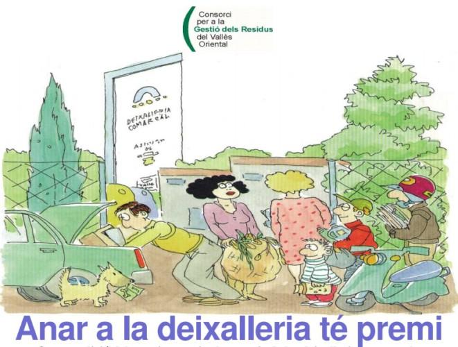 S'inicia una nova campanya Anar a la deixalleria té premi
