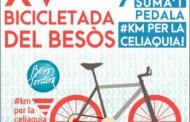 Diumenge, tindrà lloc la XV Bicicletada del Besòs, dedicada a l'Associació de Celíacs de Catalunya