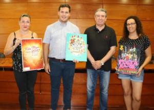 Andrés Ortiz guanya el Concurs de cartells de Festa Major 2017