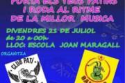 El Club Patí la Llagosta, els Saltats i VIP's organitzen avui una discoteca sobre patins a l'Escola Joan Maragall