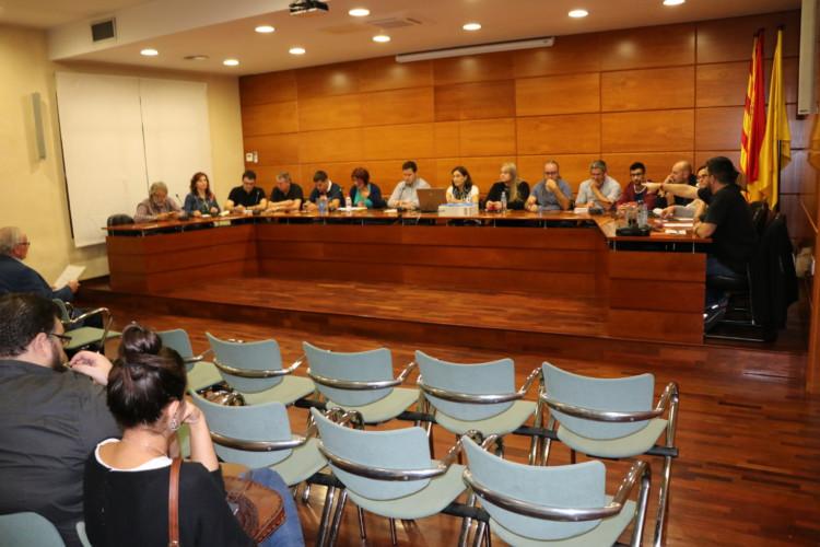 L'Ajuntament de la Llagosta celebra avui el ple ordinari del mes d'octubre