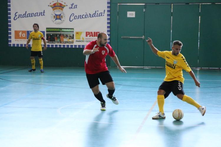 Tercer empat del Fútbol Sala Unión Llagostense