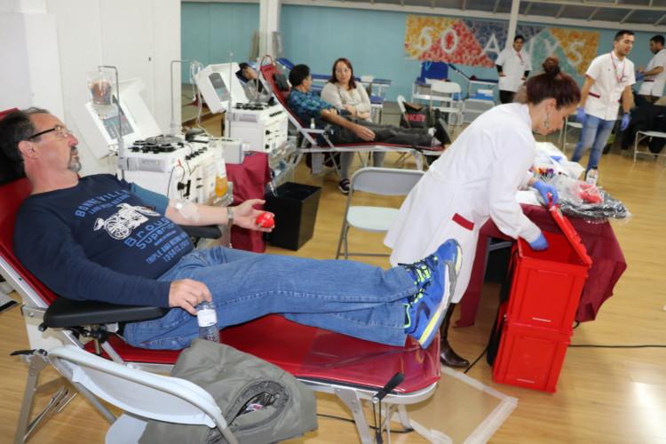 La captació de l'Escola Gilpe se salda amb 62 donacions de sang