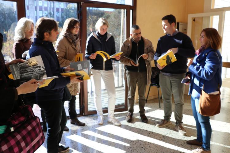 L'Institut Marina acull professorat participant al projecte Erasmus + GoFor