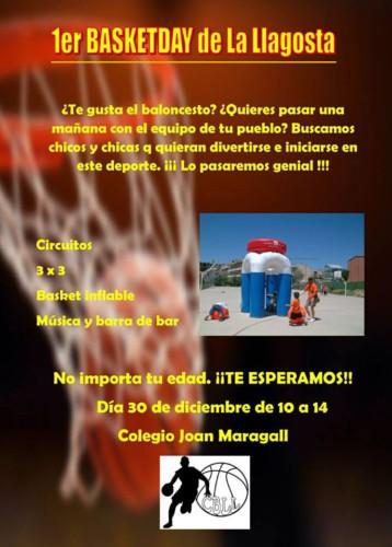 El Club Bàsquet la Llagosta celebrarà dissabte el Basketday a l'Escola Joan Maragall