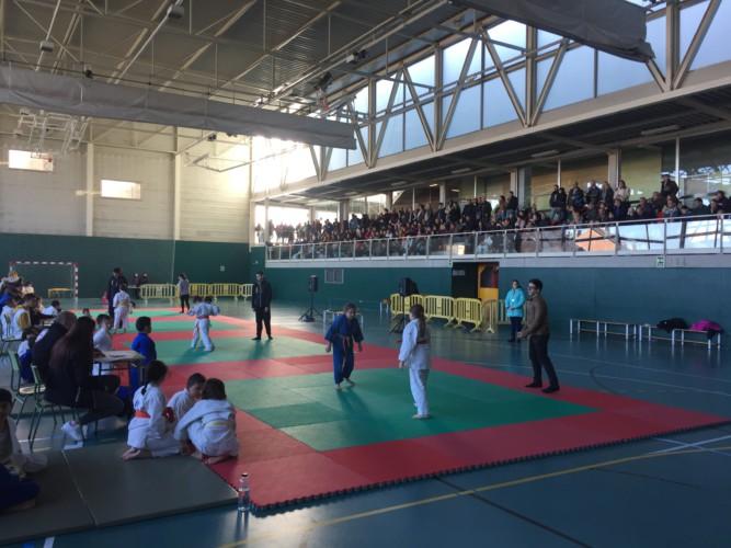 L'AE Karate-Judo celebra el Torneig de Nadal de judo amb prop de 230 infants