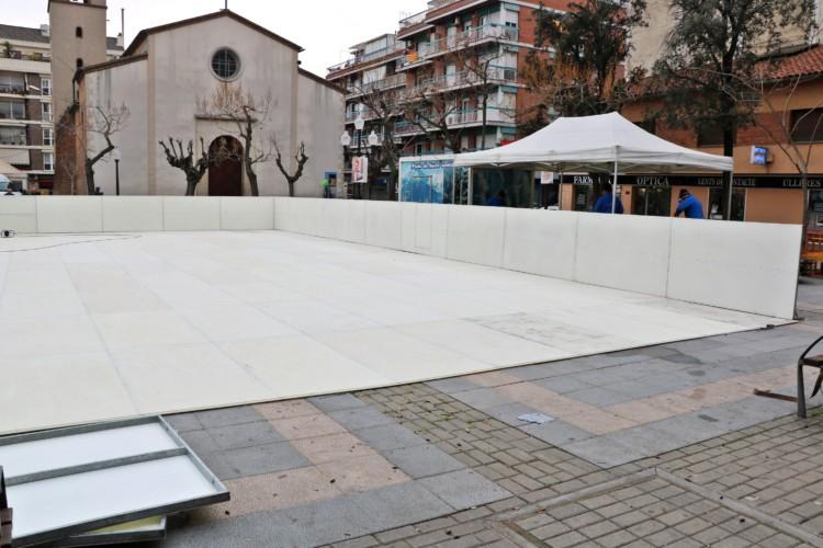La pista de gel de la Llagosta s'inaugura aquesta tarda
