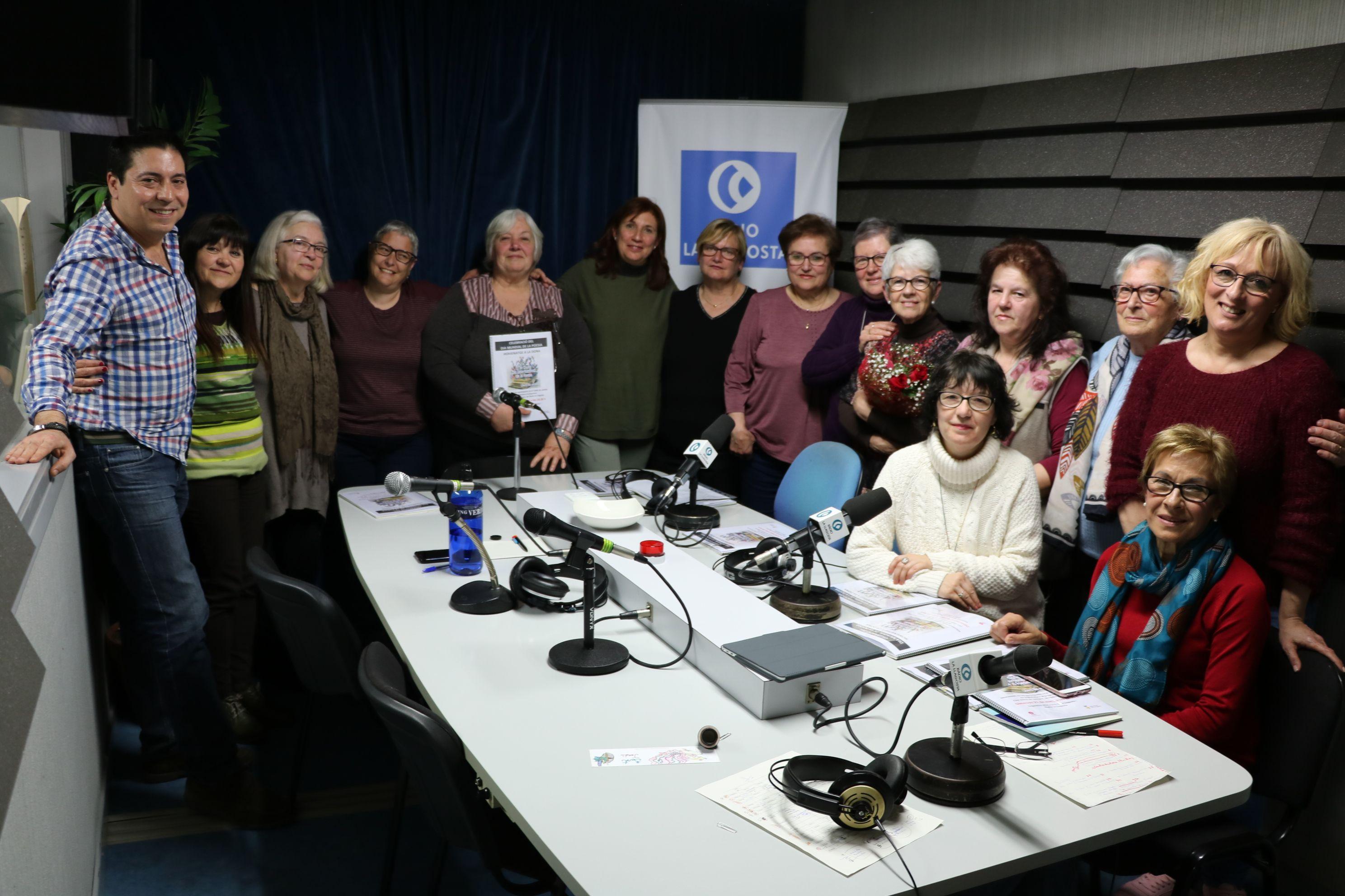 La Biblioteca i Ràdio la Llagosta celebren el Dia Mundial de la Poesia