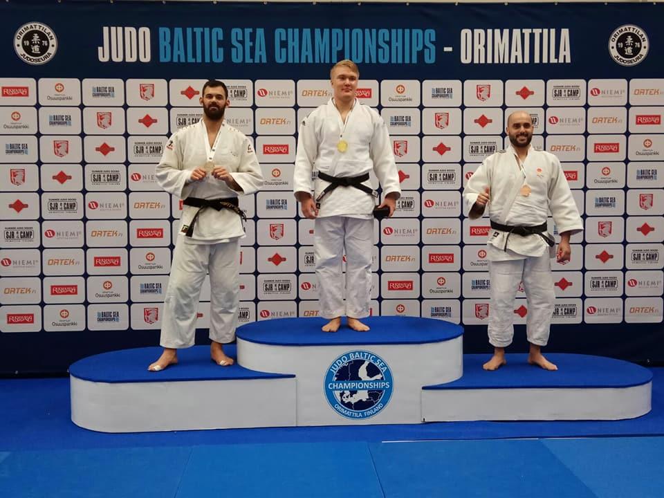 Daniel Buendía guanya dos bronzes en un campionat de judo a Finlàndia