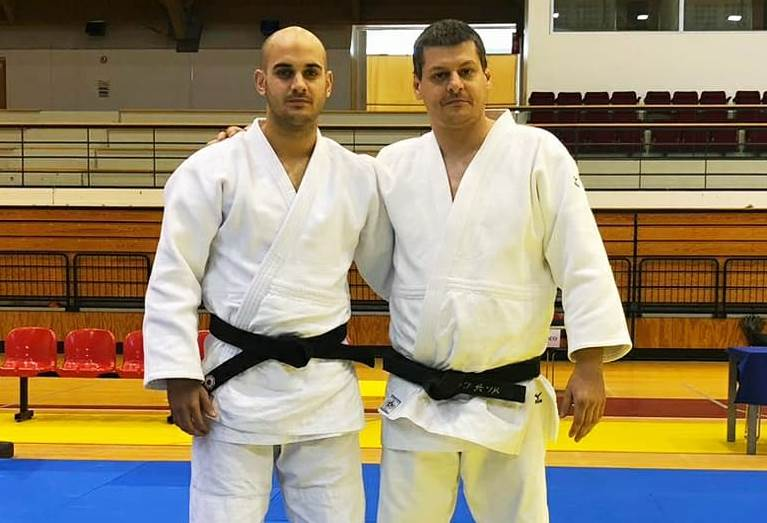 Héctor Roura i Sergi Pons, subcampions d'un torneig internacional de judo a Portugal