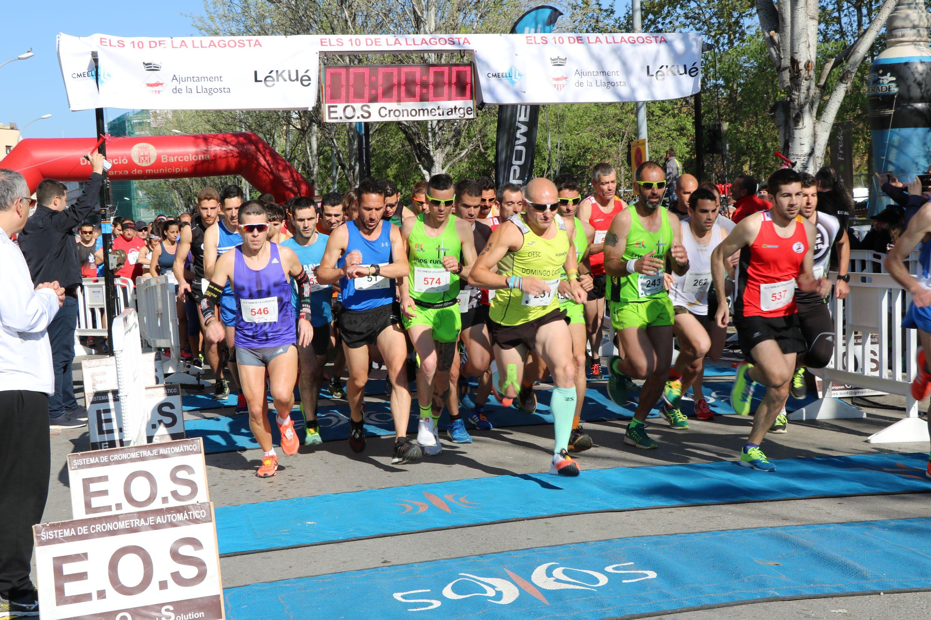La Cursa Popular Els 10 de la Llagosta se celebrarà diumenge