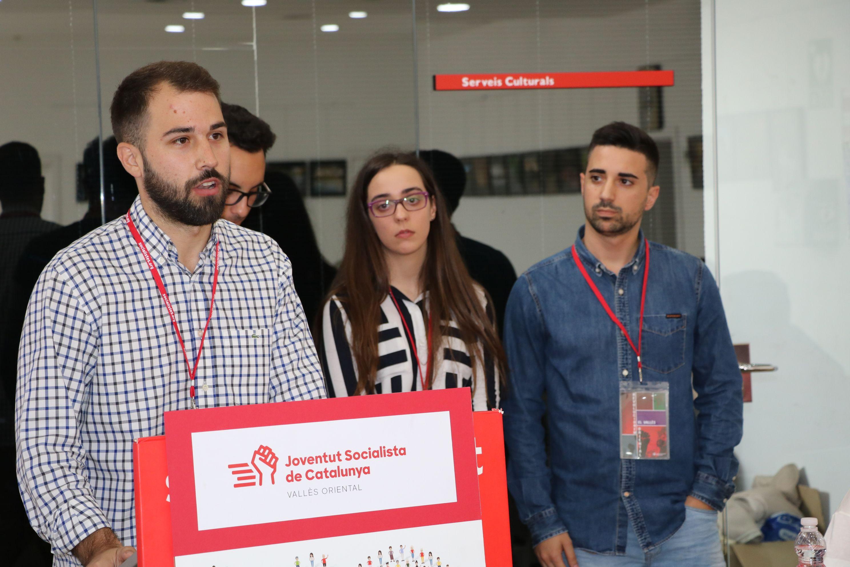 El llagostenc Marc Ruiz, escollit nou secretari d'organització de les JSC al Vallès Oriental