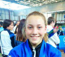 Paula Bienvenido, cinquena al Campionat d'Espanya infantil de judo
