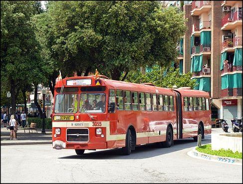 El Ral·li internacional d'autobusos clàssics tornarà a passar per la Llagosta
