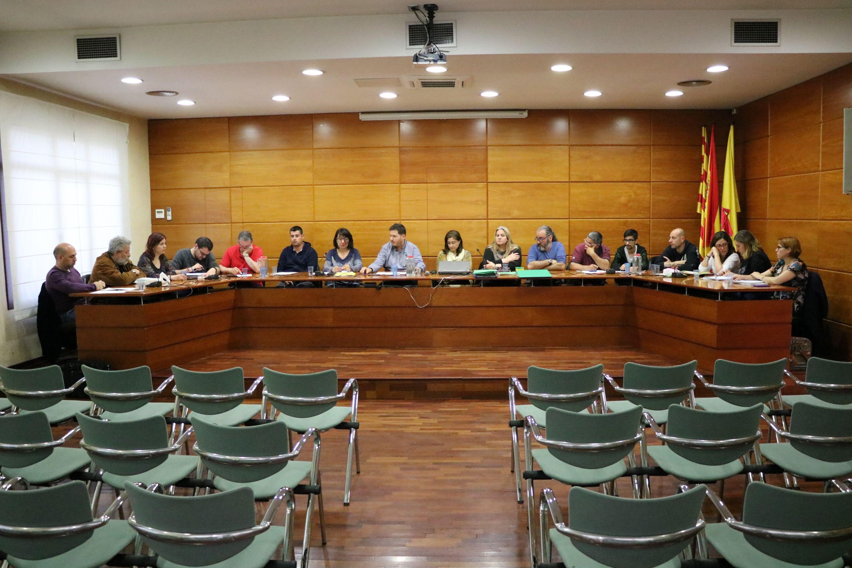 L'Ajuntament celebra aquesta tarda la sessió plenària ordinària del mes de juliol