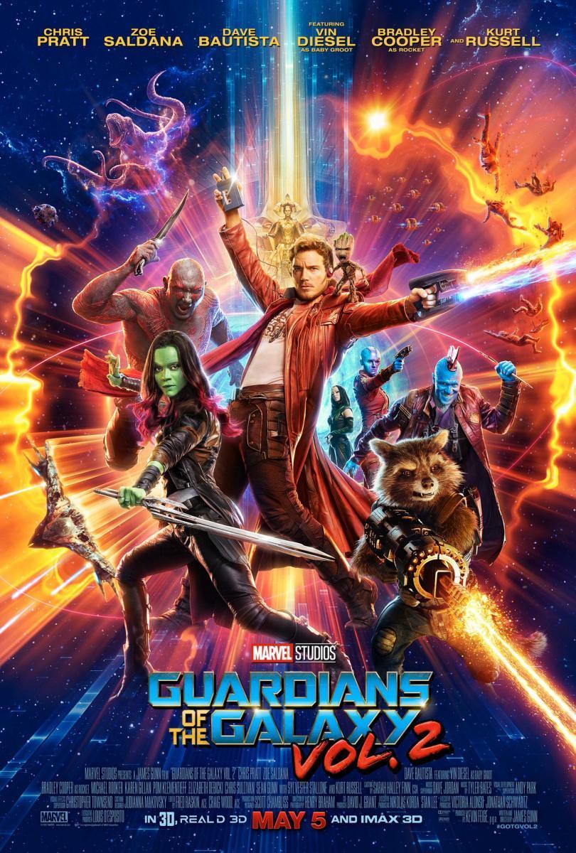 Demà es projectarà al Parc Popular la pel·lícula Guardianes de la galaxia Vol. 2