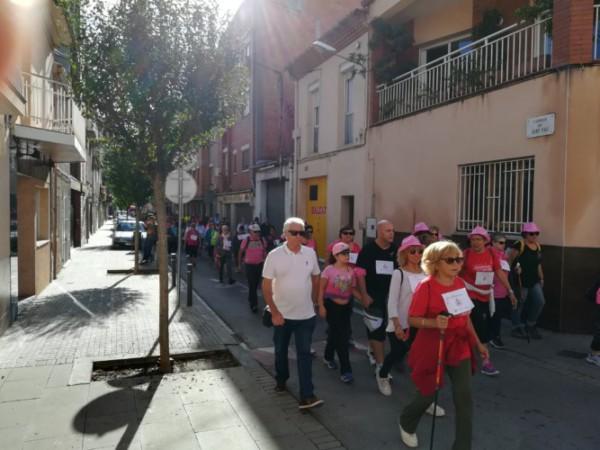 La quarta Caminada contra el càncer de mama se celebrarà el 28 d'octubre