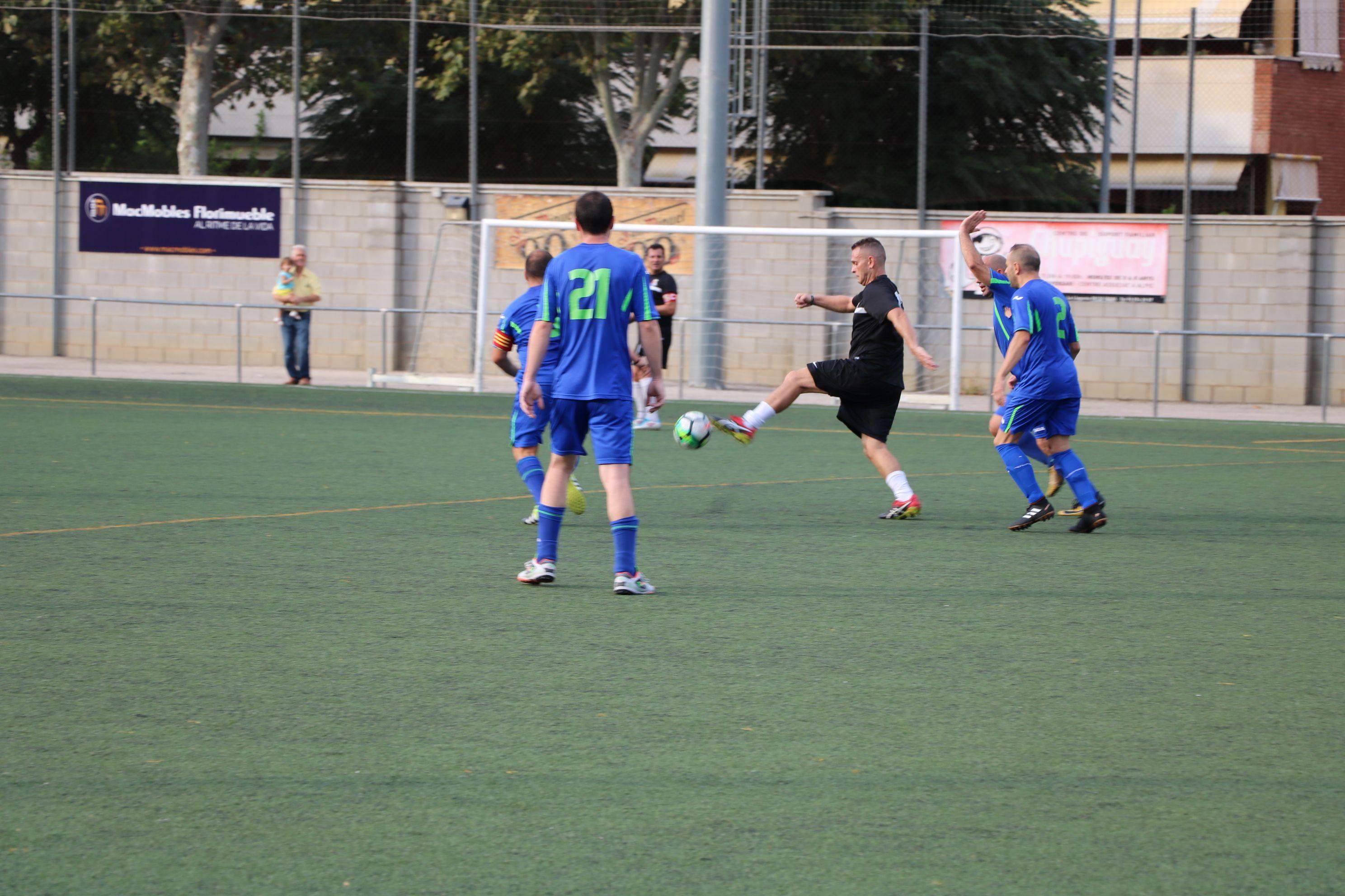 El Viejas Glorias s'estrena a la Primera Divisió amb victòria contra la Peña Madridista Iluro