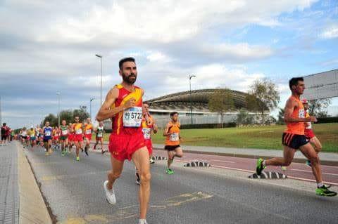 Albert Caballero obtè el vintè lloc del Mundial d'atletisme màster a Màlaga