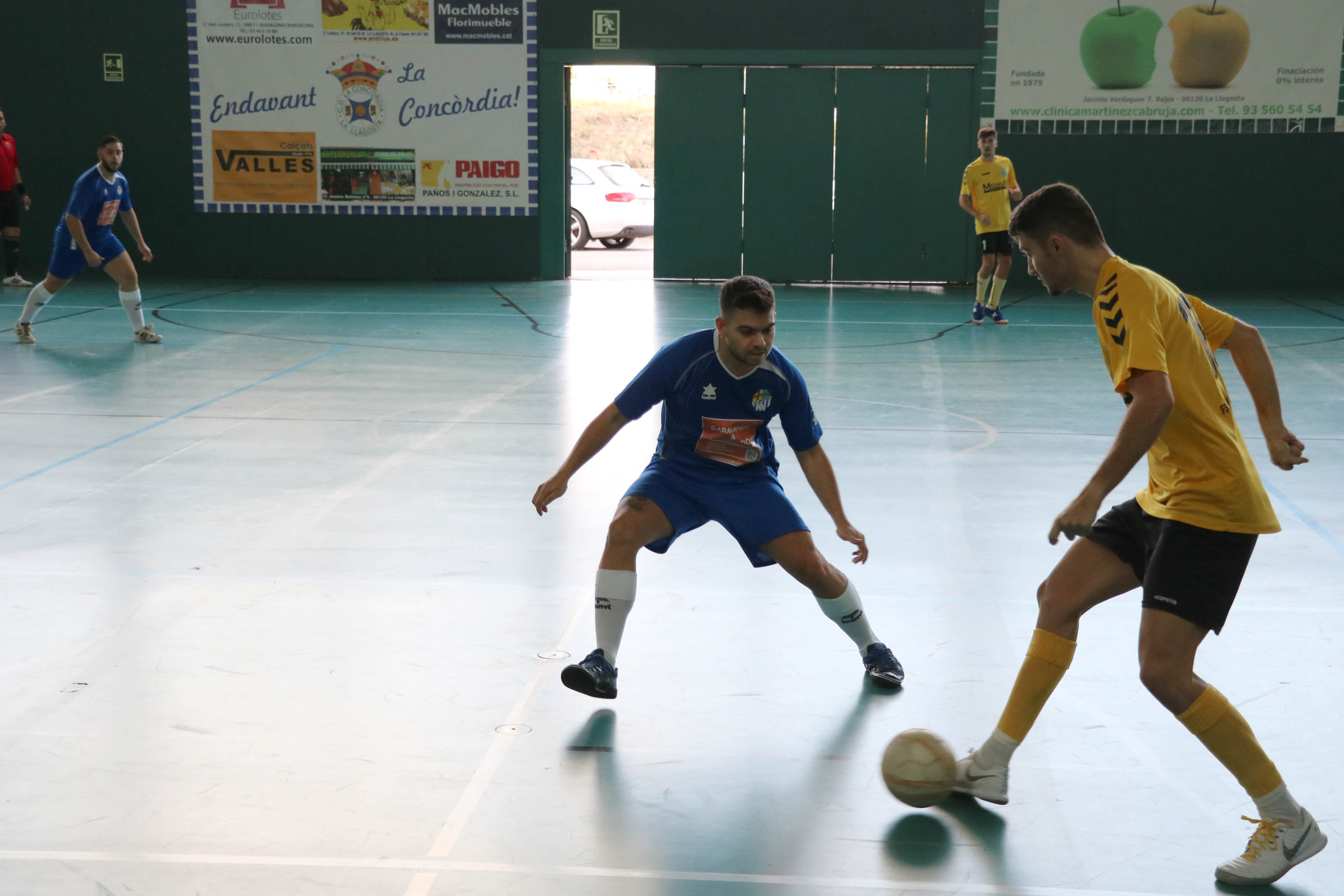 El FS Unión Llagostense cau (5-2) a la pista del Bigues i Riells