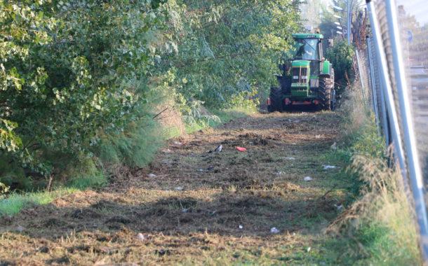 L'Ajuntament neteja avui i demà els terrenys de Can Xiquet