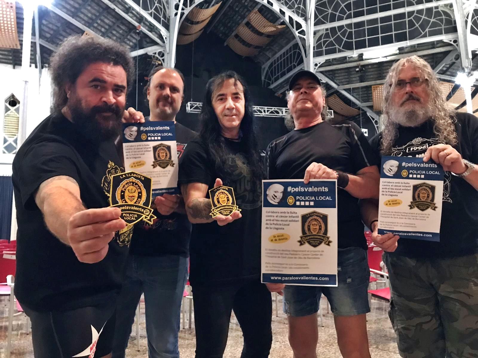 Los Mojinos Escozíos, amb la campanya Escuts Solidaris Contra el Càncer