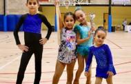 El Club Patí la Llagosta suma dos podis al Trofeu de patinatge artístic de Sant Fost