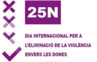 L'Ajuntament programa diversos actes pel dia contra la violència masclista